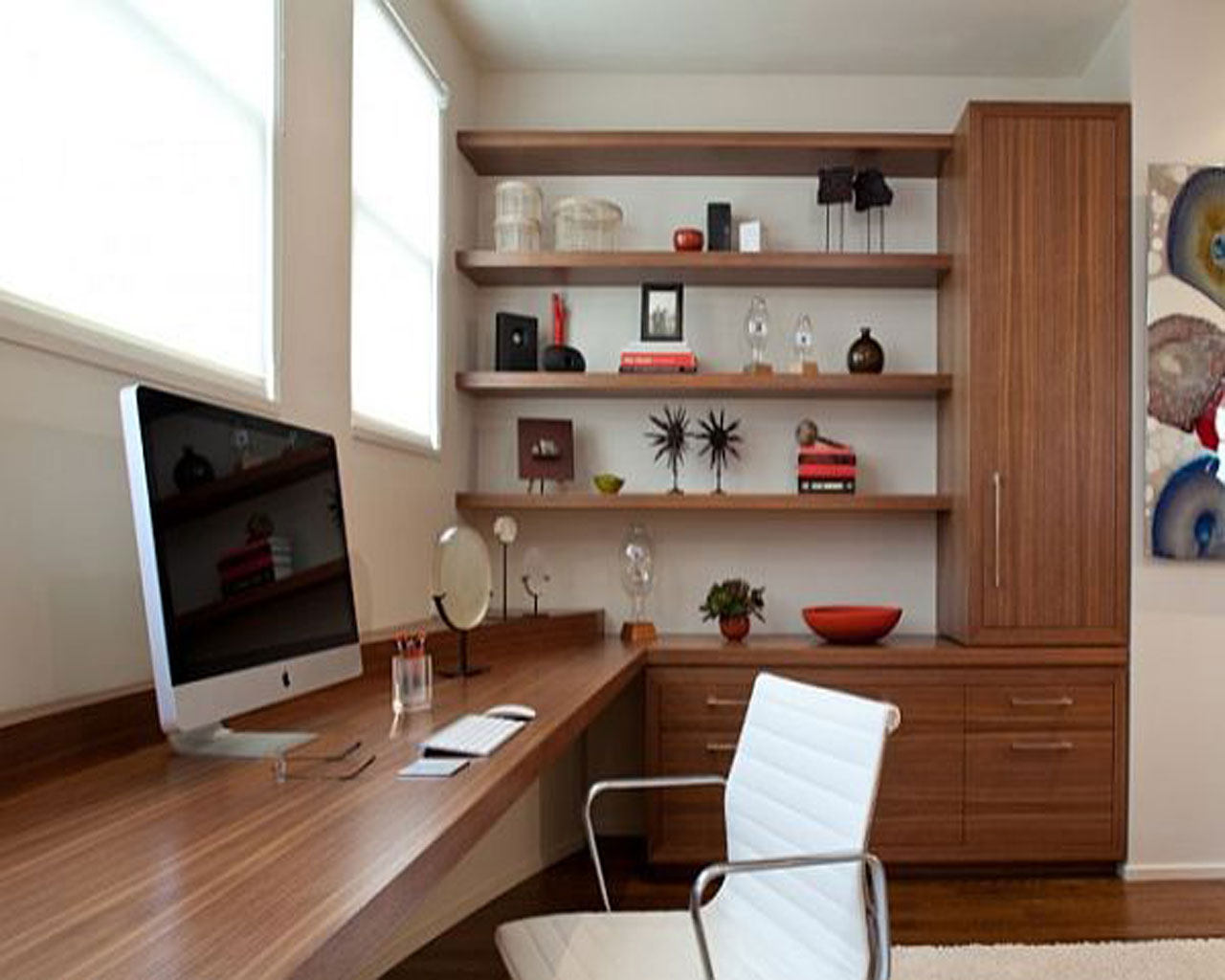 6 Dicas para transformar um quarto em escritório Grupo  ~ Quarto Solteiro Escritorio