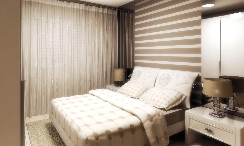 Como escolher um papel de parede para o seu quarto? Grupo Nova Casa  #80674B 1500 894